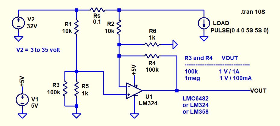 Hi-Side Hi-Voltage Current Monitor