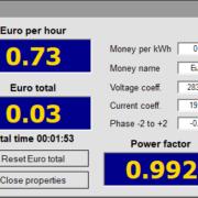 Theremino PowerMeter application